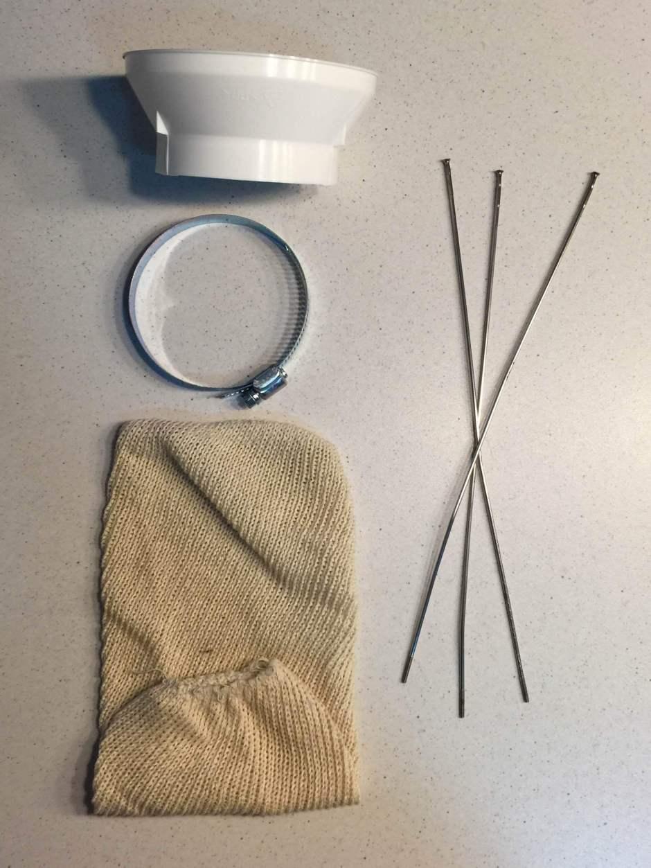 Material Necesario para hacer un Hop Spider