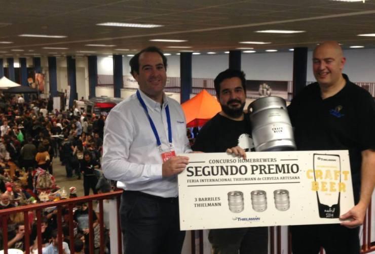 Luisal Segundo Premio Feria Thielman Madrid 2014