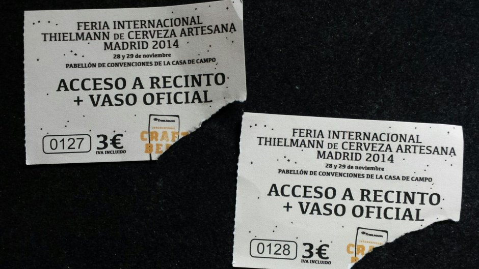 Tickets de Acceso a la feria