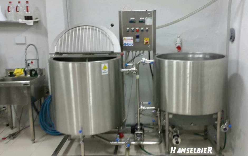 Equipo de elaboración de Cerveza Artesana Goose