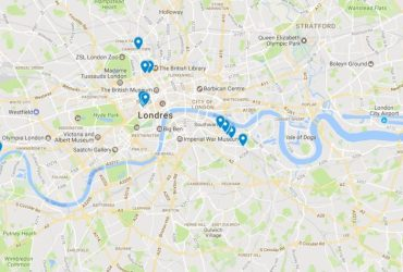 Mapa Visita Cervecera a Londres
