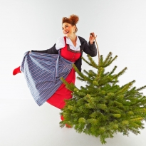 crazy world goes heidi @ x-mas | © hanskeller.com
