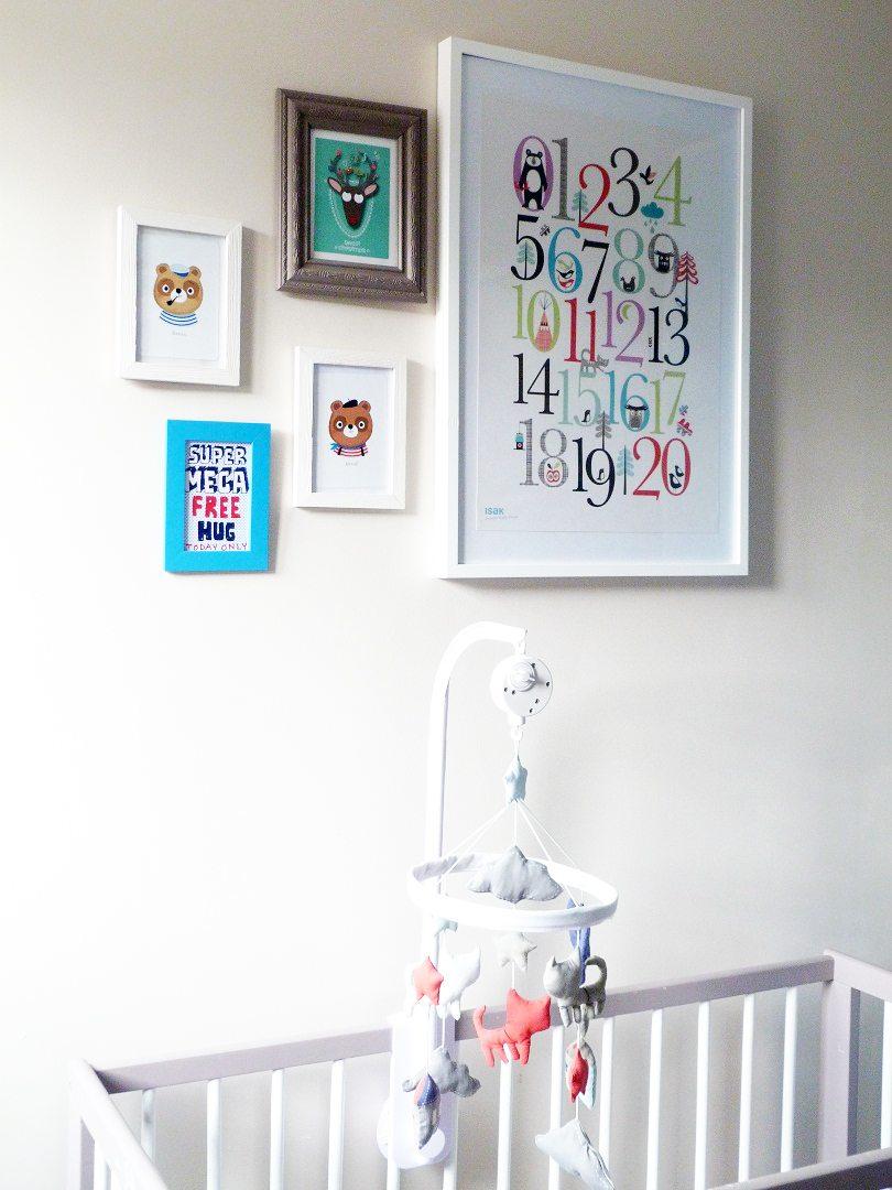 D coration de chambre de b b jolie chambre du petit sasha for Blog deco chambre bebe