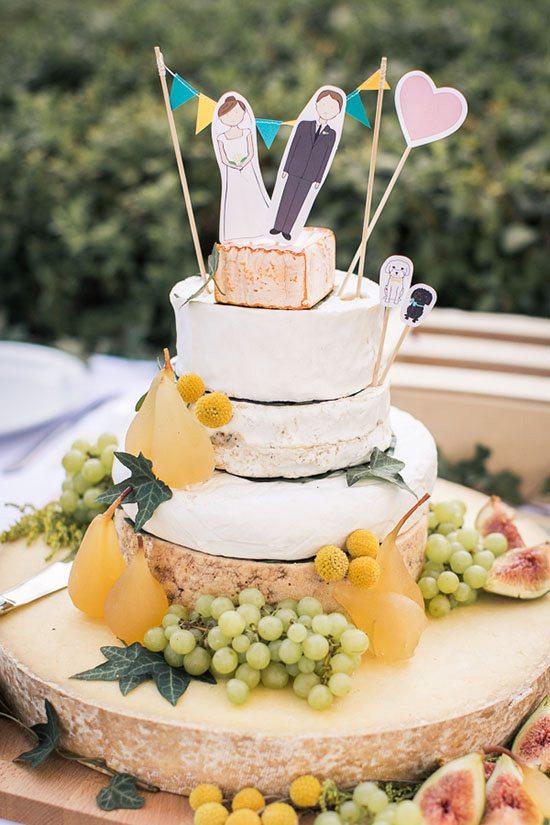Gateau de mariage fromage