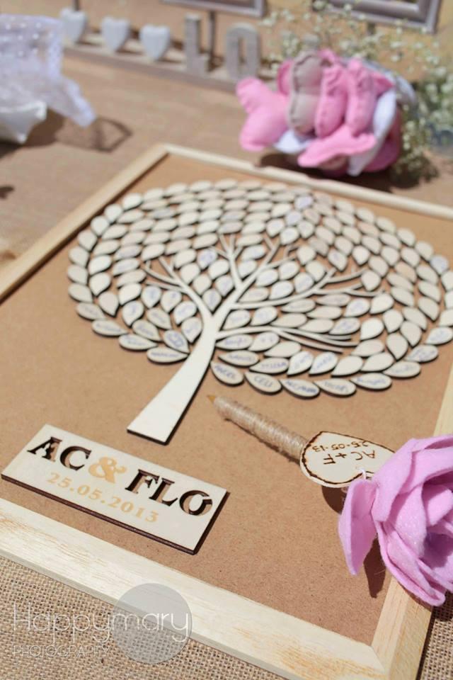 notre mariage un arbre en bois signature alternative l 39 arbre empreintes happy chantilly. Black Bedroom Furniture Sets. Home Design Ideas