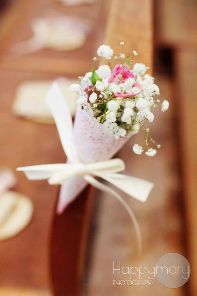 Notre mariage nos livrets de messe et la d coration de for Livret des fleurs