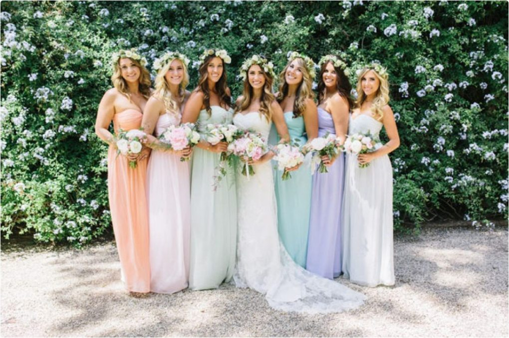 des robes pastel pastel dresses great for bridesmaids happy chantilly. Black Bedroom Furniture Sets. Home Design Ideas