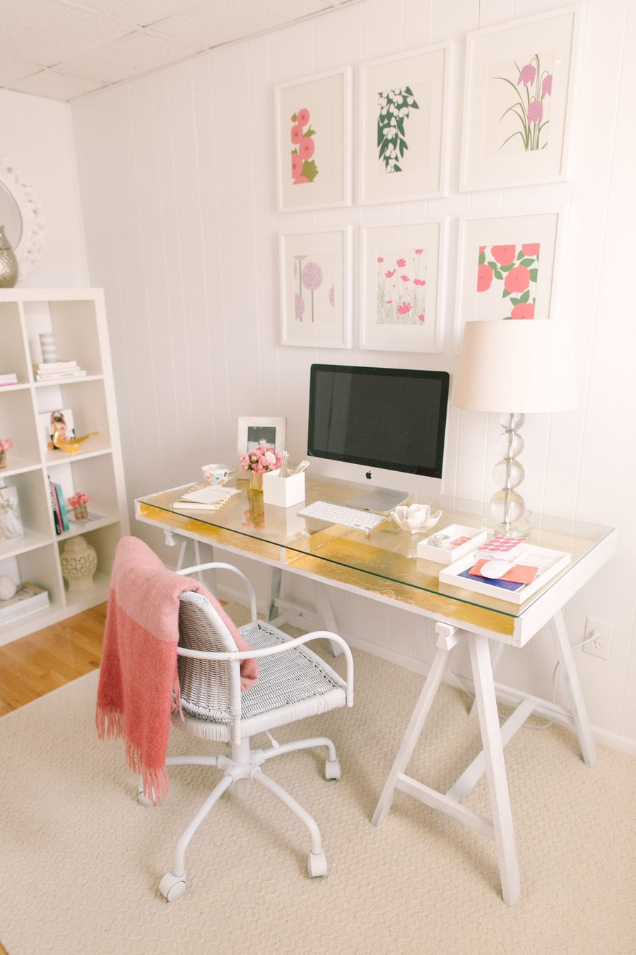 10 décorations féminines pour le bureau - 10 feminine decorations ...