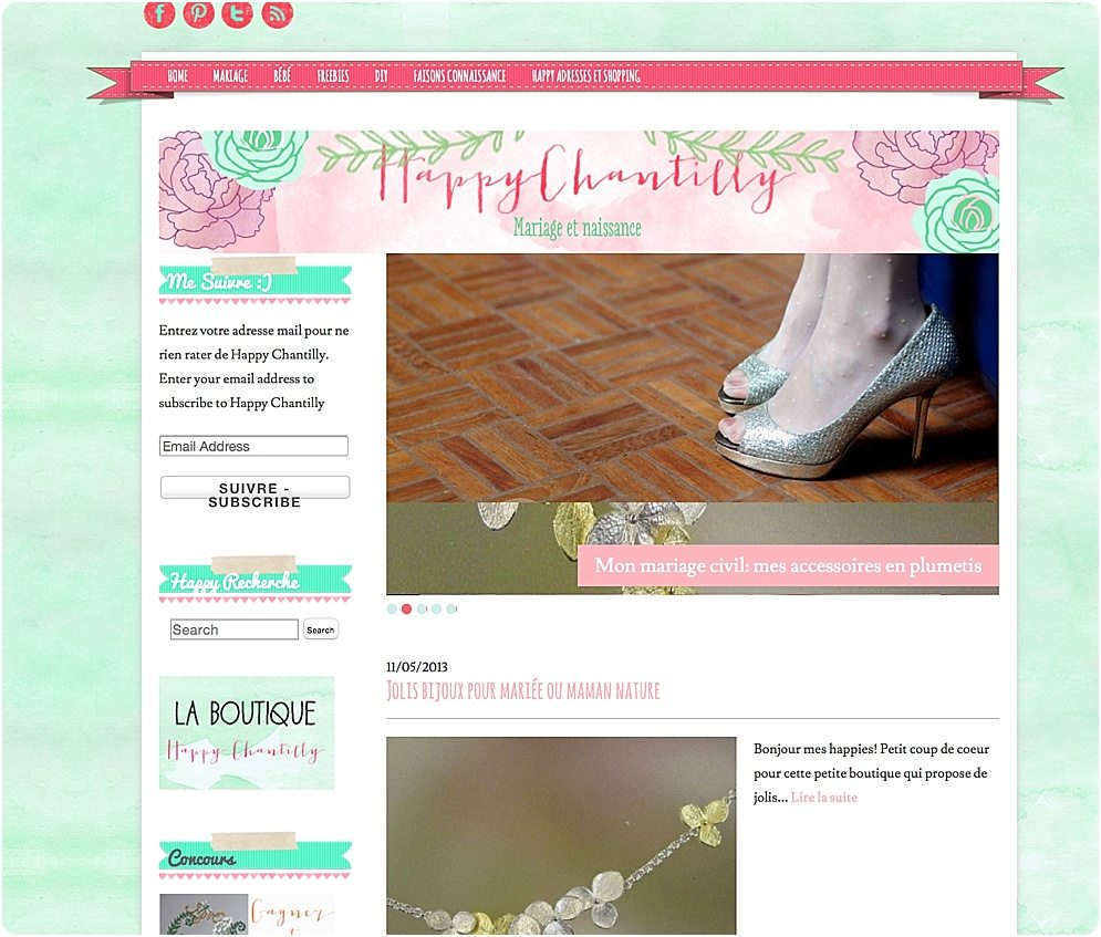 Evolution du design de blog: nouveau blog jaune -