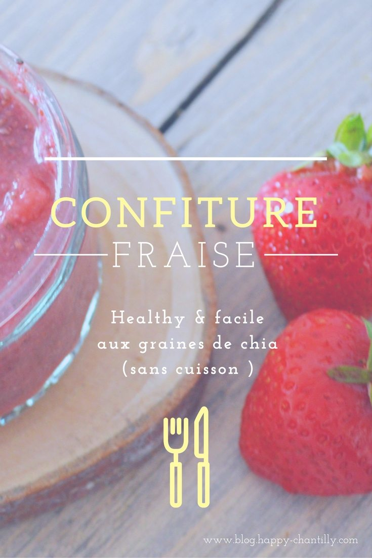 confiture de fraise healthy
