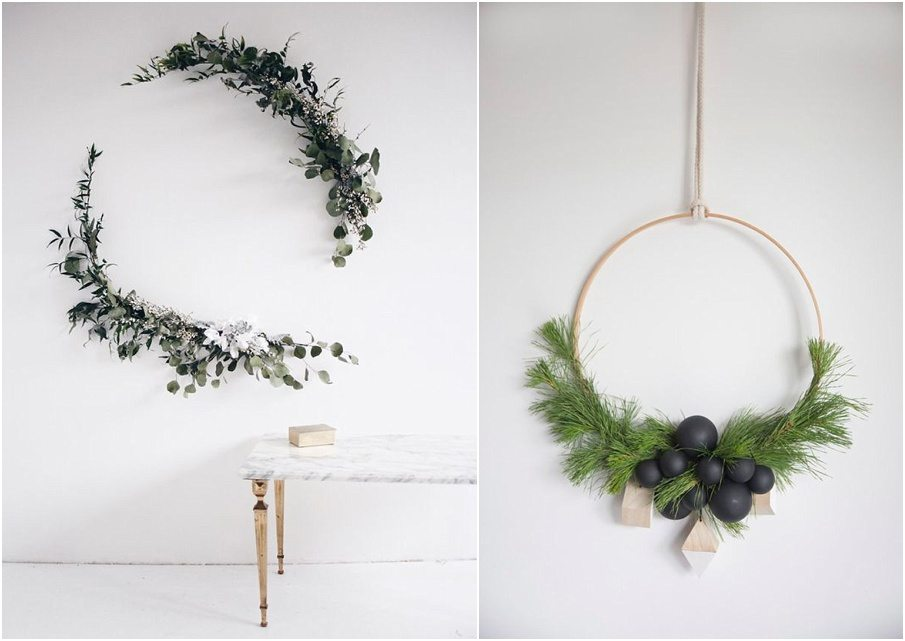 diy jolies couronnes de no l happy chantilly. Black Bedroom Furniture Sets. Home Design Ideas