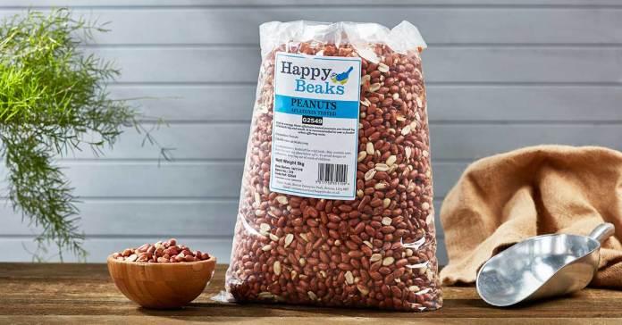 Aflatoxin tested peanuts