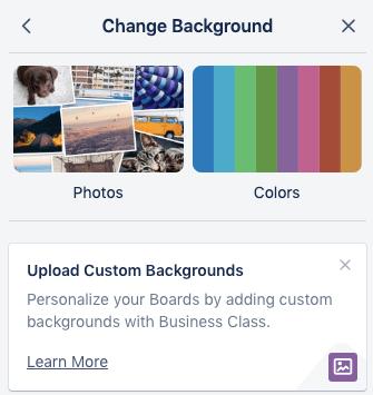 Trello customization options