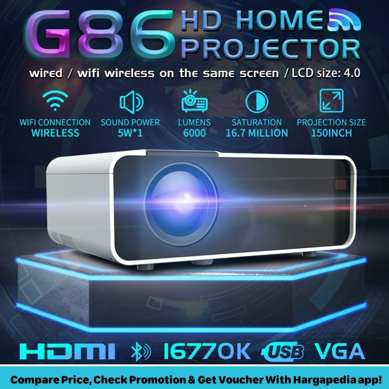 G86 Home Projector