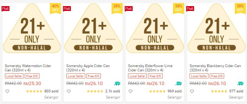 Somersby Shopee