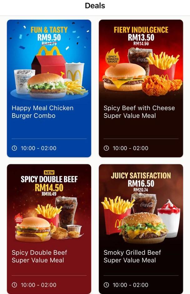 McDonalds Set