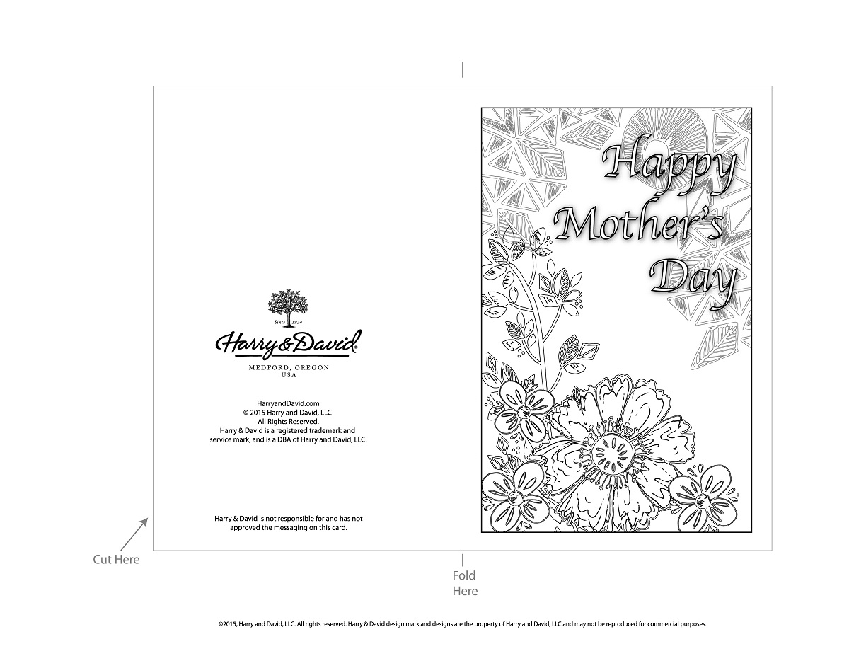 Printable Mother S Day Cards
