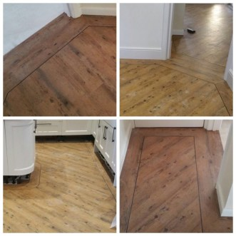 Premium Wood Reclaimed Pine (fitted by Long Lane Flooring)