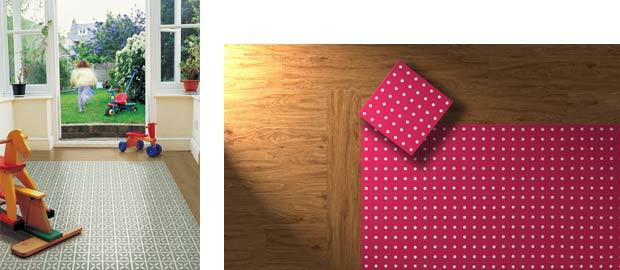 wood effect floor combinations