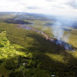 Lava is threatening the Puna district
