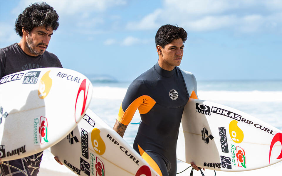 Surf para iniciantes - Procure ajuda com os profissionais