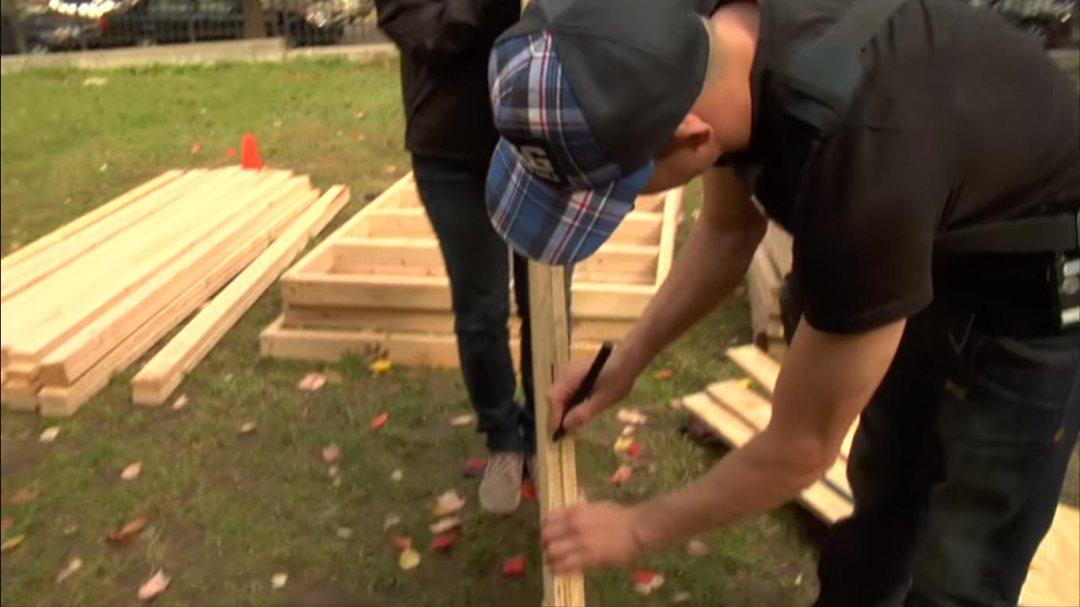 como construir uma pista de skate processo de montagem