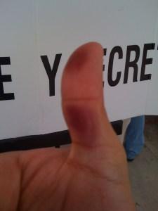 Ya voté