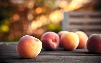 hd food peach wallpapers peaches hdwallsource fresh