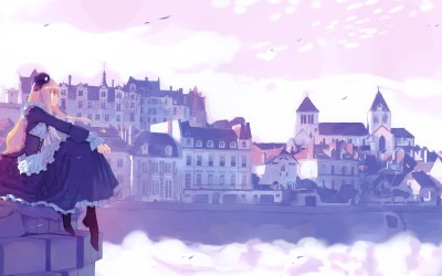 anime wallpapers hd spice gorgeous desktop stunning wolf cityscape sitting blonde dress pretty wonderful background purple sailor moon hdwallsource eskipaper