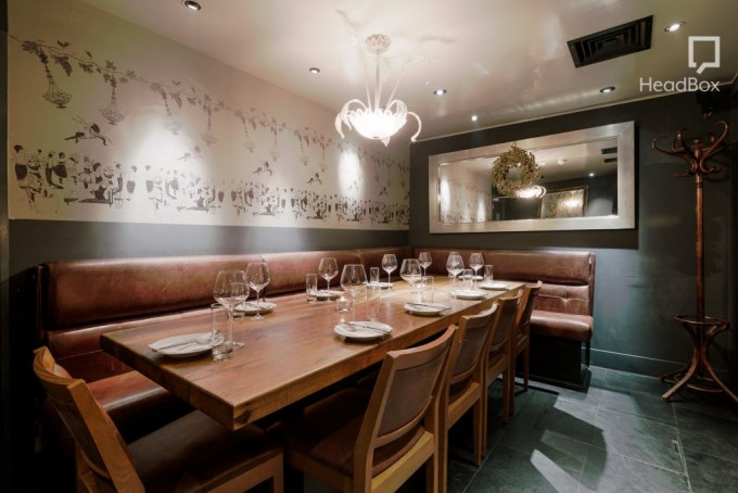 Dehesa private dining rooms Mayfair