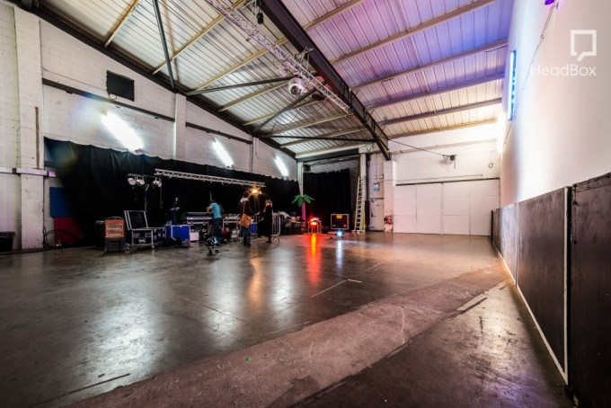 large rehearsal dance studio in London