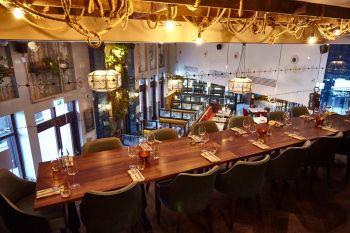 mezzanine private dining room tea merchant