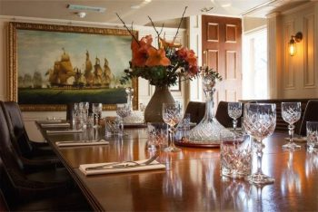 luxury private dining room at cabotte