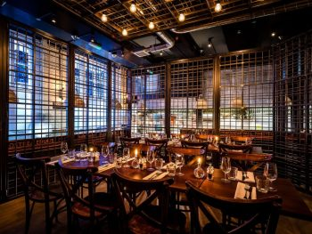 caged design private dining rooms London