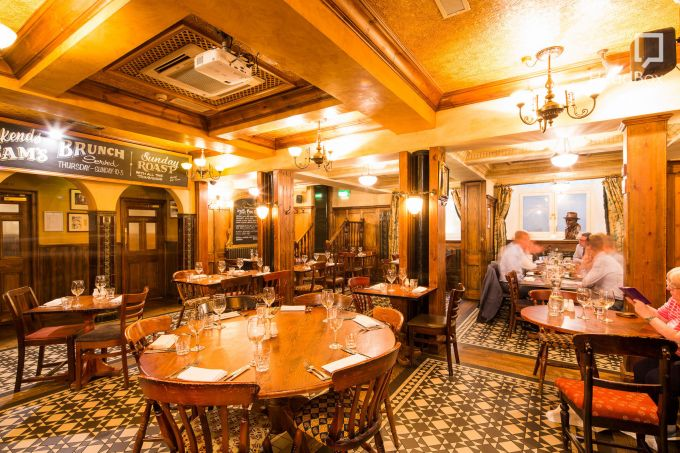 traditional pub dining with booths. A longstanding Northern Quarter restaurants.