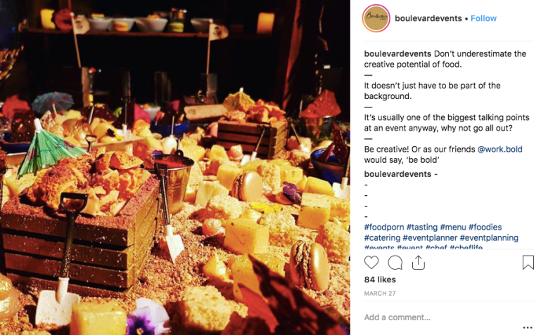 A boulevard events instagram posts