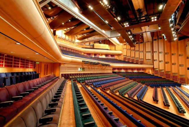 Barbican large conference venue in London