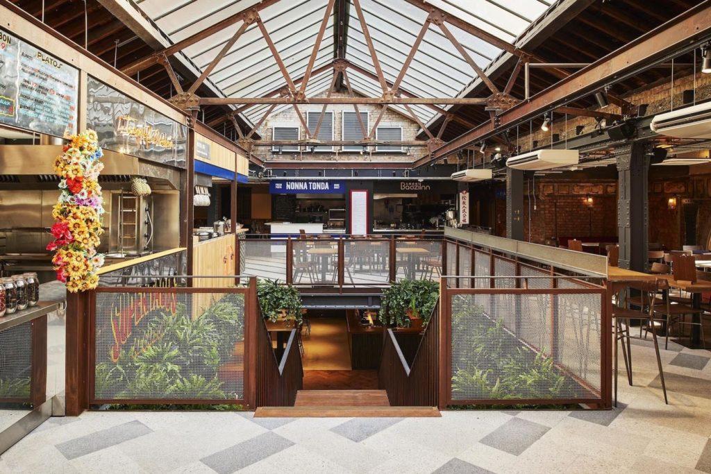 The Market Halls in Victoria London