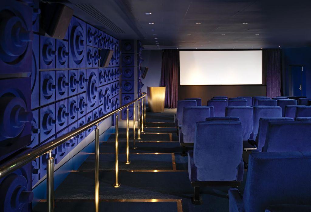 screening room at Mondrain London