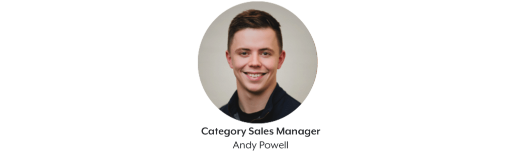 Andy Powell Category Sales Manager at HeadBox