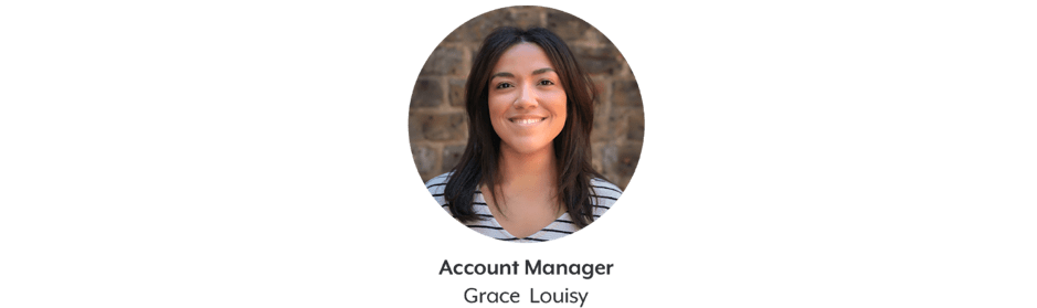 Grace Louisy account manager