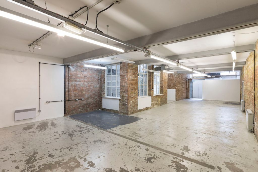 A blank canvas product launch venue