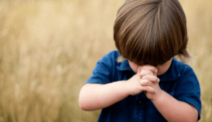 A Prayer Away - Child Praying