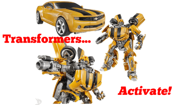 Transformers Activate