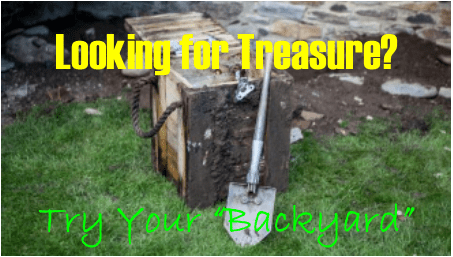 Looking For Treasure?