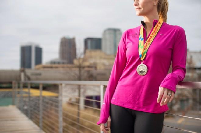 Mercedes Marathon story photo shoot for Feb 2015 issue of Birmingham Magazine
