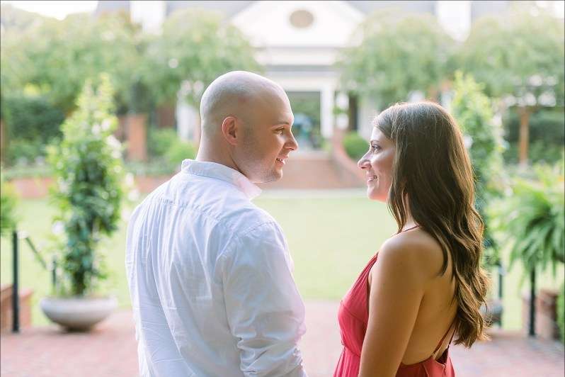 Melissa & Taylor's Engagement Session in Franklin TN by Heather Durham Photography