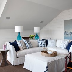 Crypton Fabric Sofa Chaise Bed Canada Southern Living Showcase House- Interior Tour - Heather ...