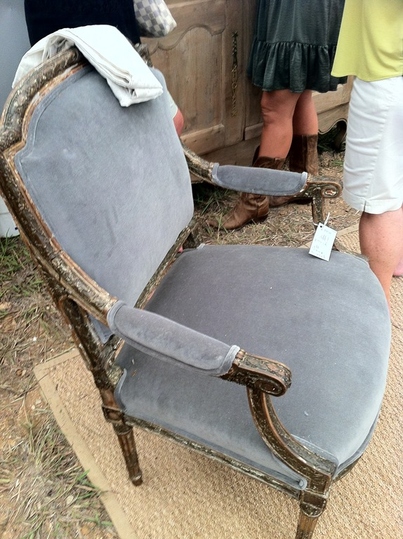 french velvet chair ergonomic germany trends at the fall round top antiques fair - heather scott home & design