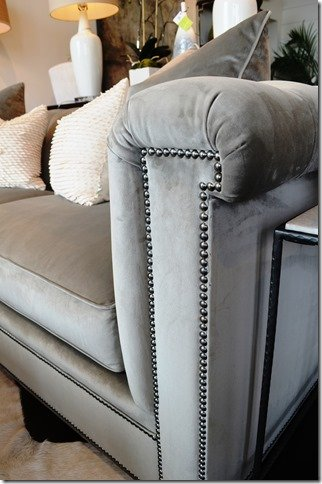 Whats New Wednesday Velvet Tufted Sofa  Heather Scott
